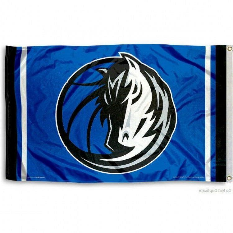 dallas mavericks flag 3 x5 nba logo