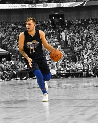 dallas mavericks luka doncic glossy 8x10 photo
