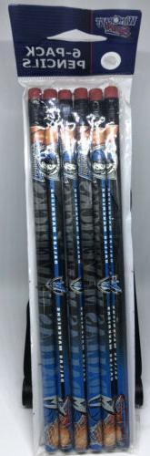 Dallas Mavericks Pencil 6-Pack - WinCraft Sports - NBA Licen