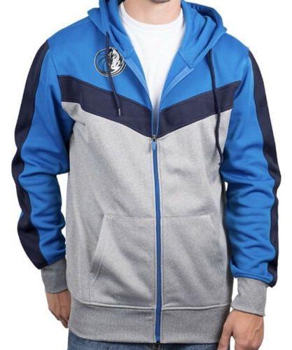 dallas mavericks sweatshirt hoodie jacket size medium