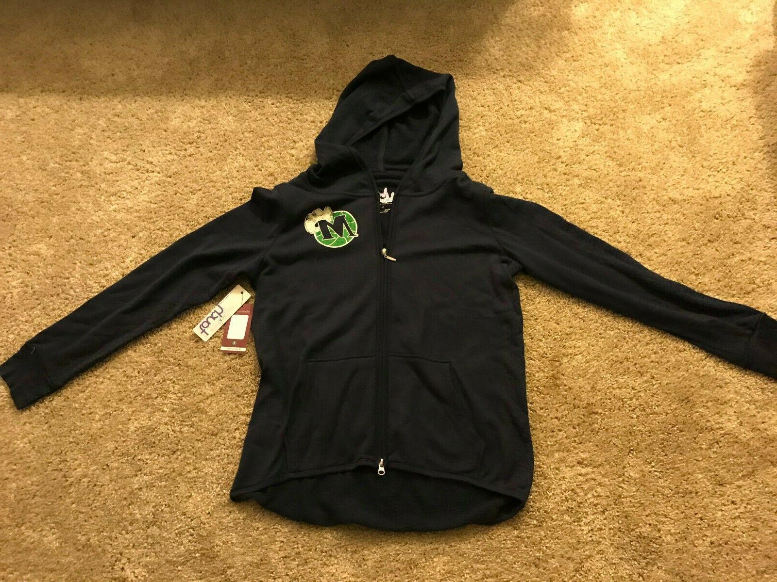 dallas mavericks womens licensed jacket size large