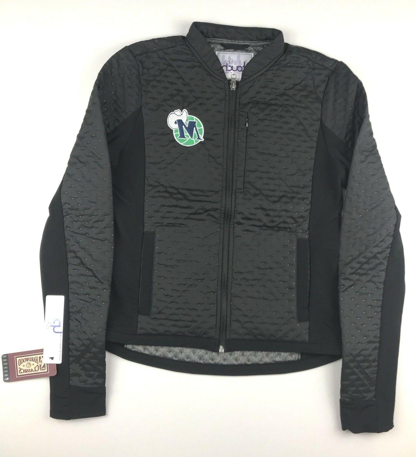 dallas mavericks womens size small quilted jacket