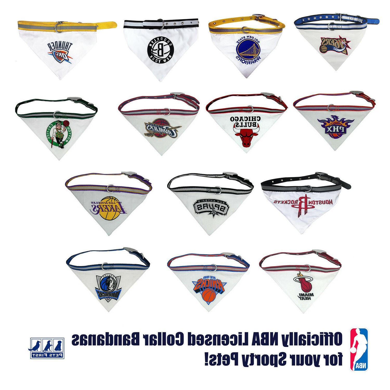 Pets NBA Collar Bandana -