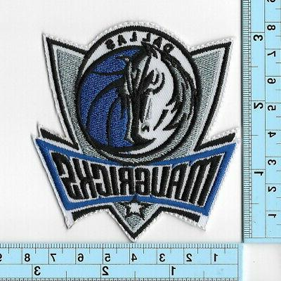 NBA Dallas on Patches Embroidered Patch Applique Emblem