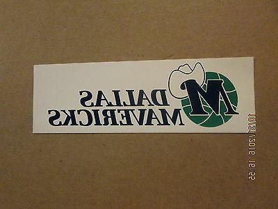 nba dallas mavericks vintage 1980 s logo
