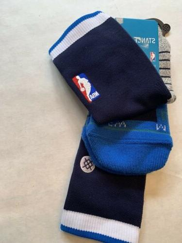 New 558 M Dallas Mavericks NBA Basketball Socks