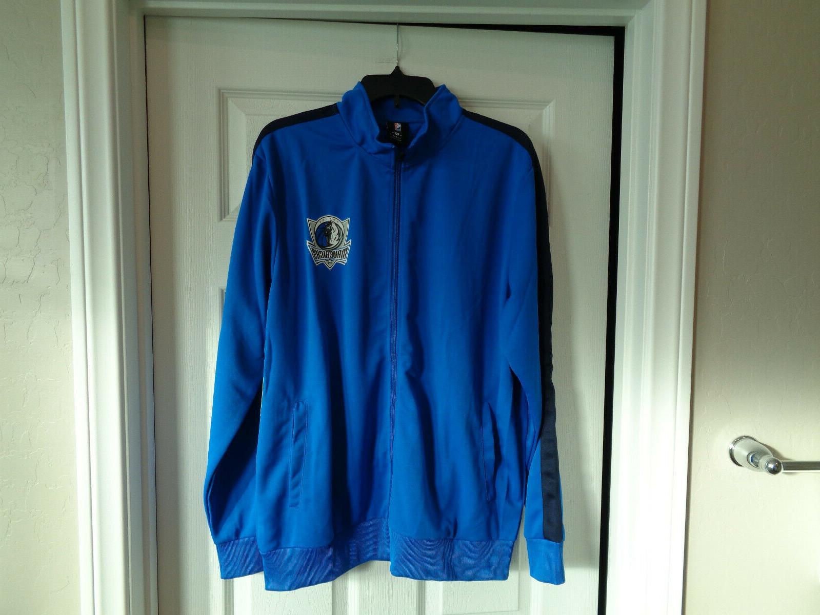 new nba authentic dallas mavericks zipper jacket