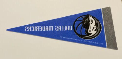 new nba dallas mavericks mini pennant flag