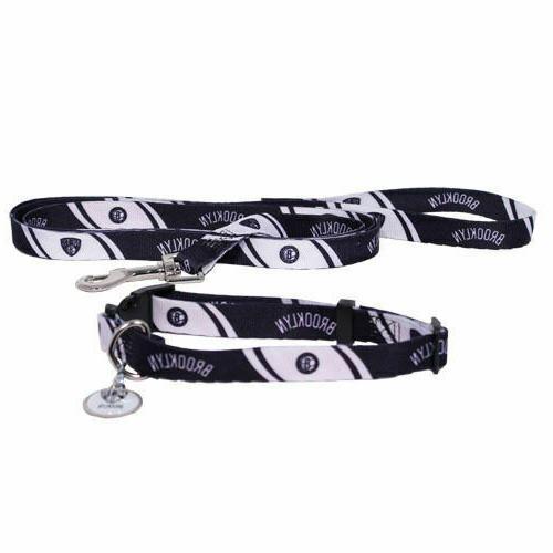 new nba dog pet set collar leash