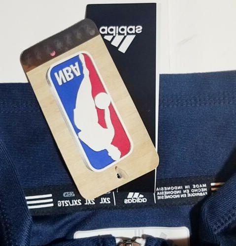 NEW STORE Dallas Mavericks Jacket Coat Blue Mens Size 2XL
