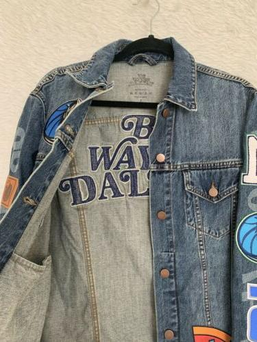 *NWT* RARE - BY WAY x DALLAS BW19 Denim Jacket