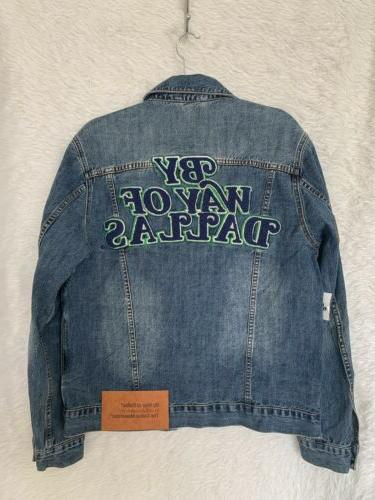 *NWT* - WAY OF DALLAS BW19 Denim Jacket