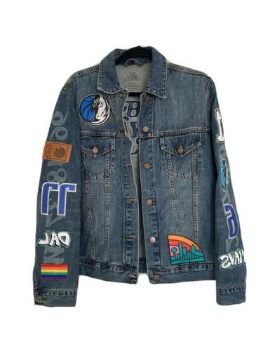nwt rare x dallas mavericks bw19 denim