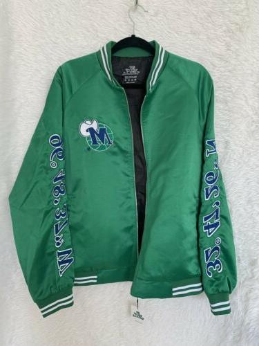 *NWT* DALLAS MAVERICKS Hardwood Classic Jacket LARGE