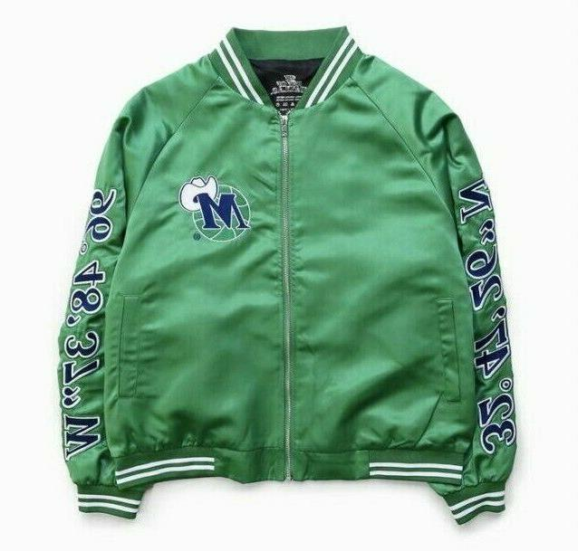 nwt x dallas mavericks hardwood classic green