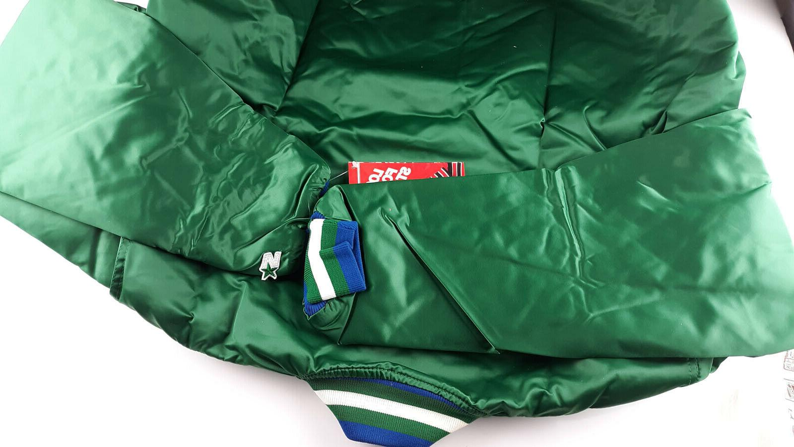 Vintage Starter Jacket NBA Mavericks Bag