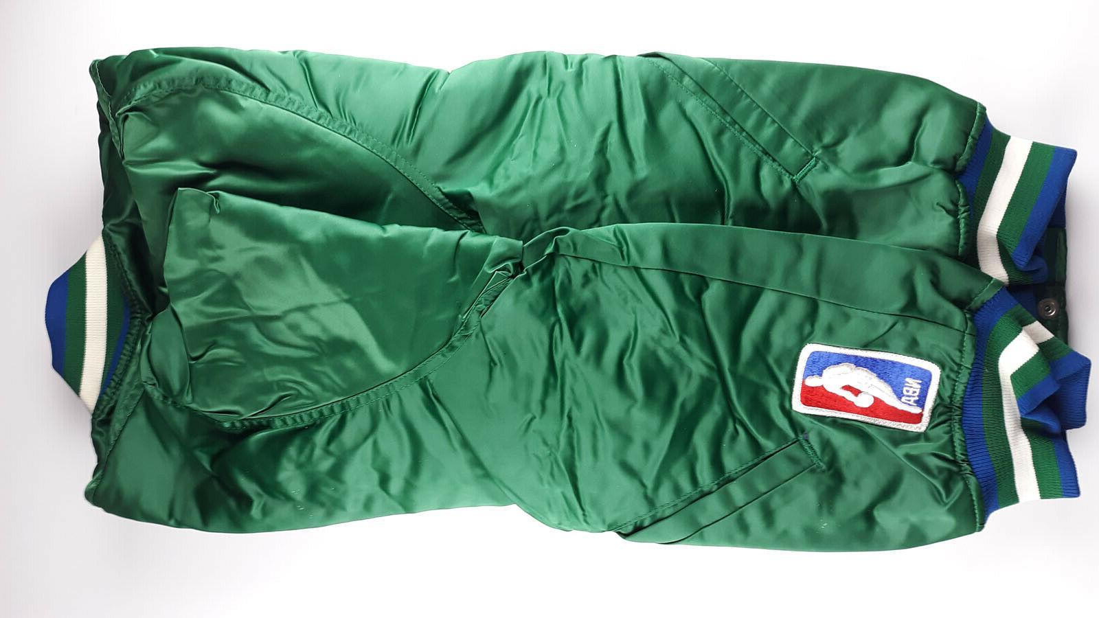 Vintage NBA Dallas Green Bag