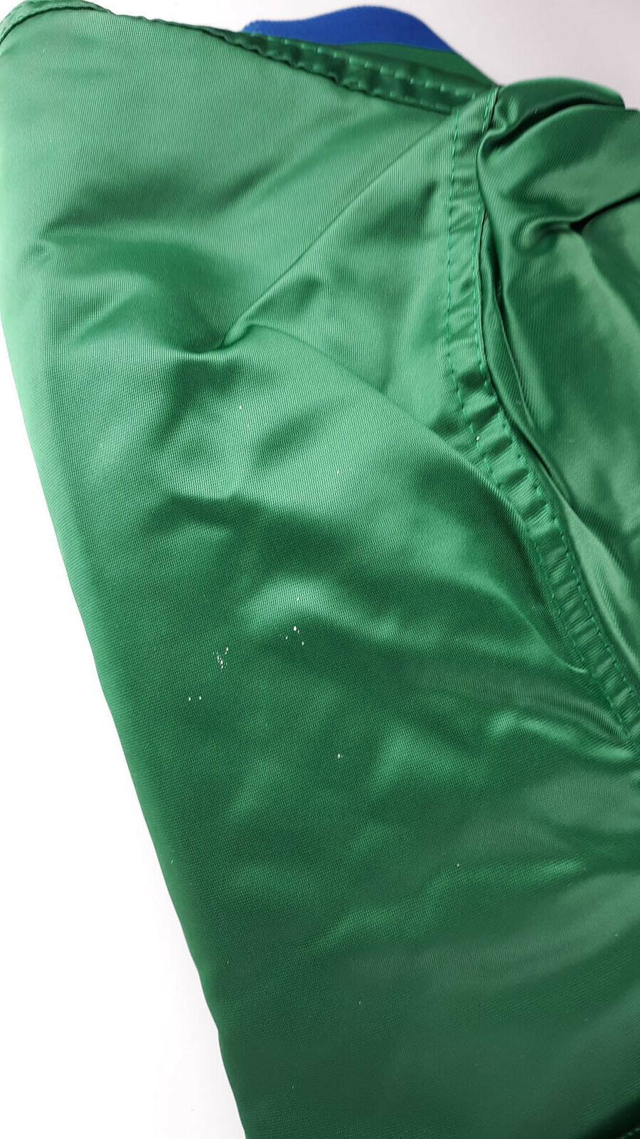 Vintage Satin Starter Jacket NBA Green in Original Bag