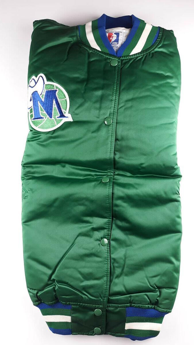 Vintage Jacket NBA XXL Green Bag