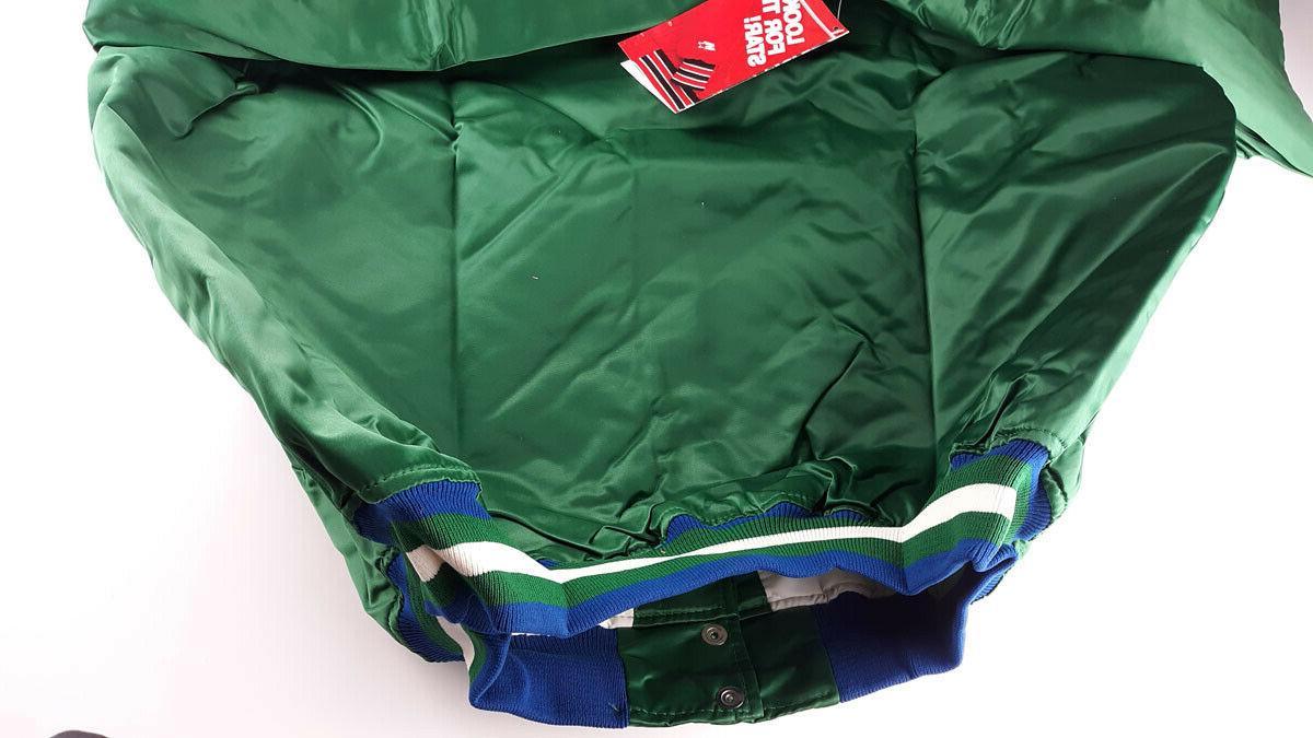 Vintage NBA Dallas Mavericks Green New in Bag