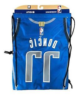 Luka Doncic #77 Dallas Mavericks Jersey Drawstring Backpack