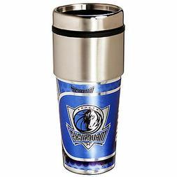Mavericks Travel Tumbler 16 oz Stainless Steel mug Plastic I