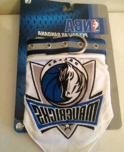 NBA Dallas Mavericks Pet Collar Bandana Dog - Size Large Hol