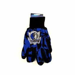 NBA Dallas Mavericks Team Color Camo Utility Gloves