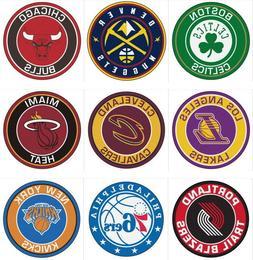 NBA Area Rug Roundel Mat Round Choose Team