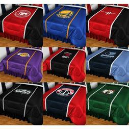 new basketball comforter sports league team logo