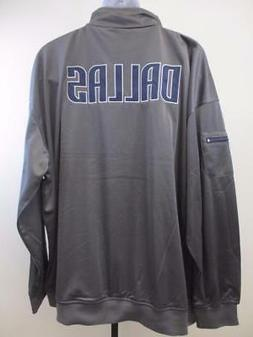 New Dallas Mavericks Mens Size 4XL Majestic Full Zip Track J