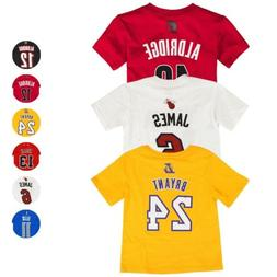 NBA Official Player Name & Number Jersey T-Shirt Infant Todd