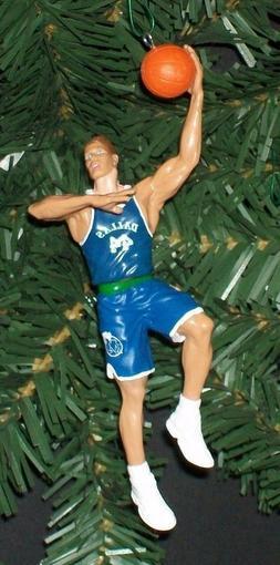 Shawn Bradley DALLAS MAVERICKS Christmas tree ornament NBA b