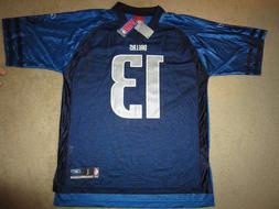 Steve Nash #13 Dallas Mavericks NBA Football Reebok Jersey L