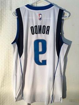 Adidas Swingman NBA Jersey Dallas Mavericks Rajon Rondo Whit