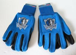 TWO  PAIR OF DALLAS MAVERICKS, SPORT UTILITY GLOVES FROM FOR